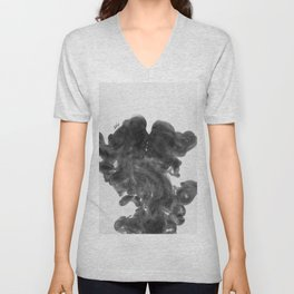 Smokey kiss. Unisex V-Neck