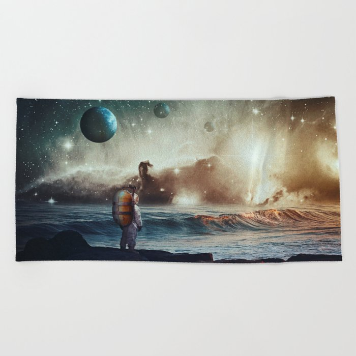 North Star Beach Towel