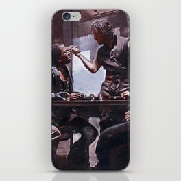 Devil's Night At The Bar - The Crow iPhone Skin
