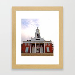 Lakewood Historic Theatre Framed Art Print