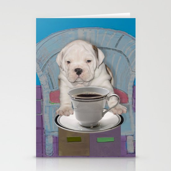 can't this wait until after my first cup Stationery Cards