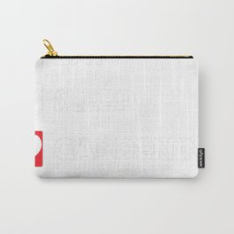 Eat Sleep Gardening Repeat Carry-All Pouch