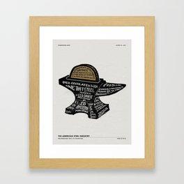 INVEST IN THE US Framed Art Print