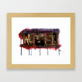 Boone: New and Old Framed Art Print
