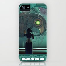 Art Nouveau Bioshock Infinite - Elizabeth and Songbird Slim Case iPhone (5, 5s)