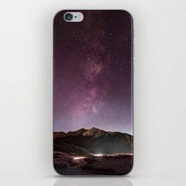Milky Way Landscape iPhone Skin
