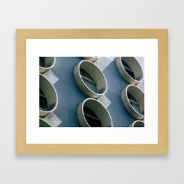 Pod Architecture Framed Art Print