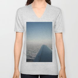 Wing in the clouds Unisex V-Neck