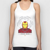 ironman Tank Tops featuring IRONMAN by Nuthon Design