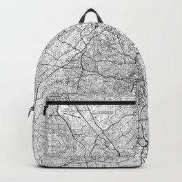 Atlanta Georgia Map (1981) BW Backpack