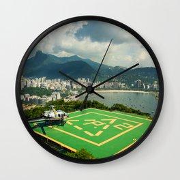 Rio de Janeiro - photo series Wall Clock