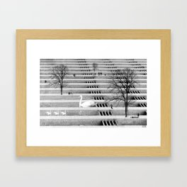 WALK IN THE PARK Framed Art Print