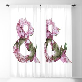 & peonies Blackout Curtain