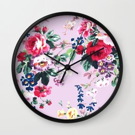 Bouquets with roses 2 Wall Clock