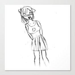 FXgirl Canvas Print