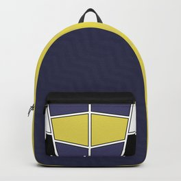 Abstract Geometric Waves Pattern Backpack