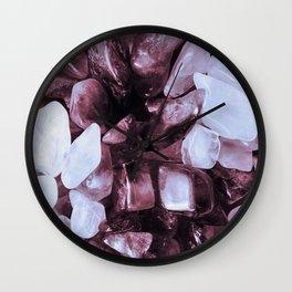 Crystal Chippings Wall Clock