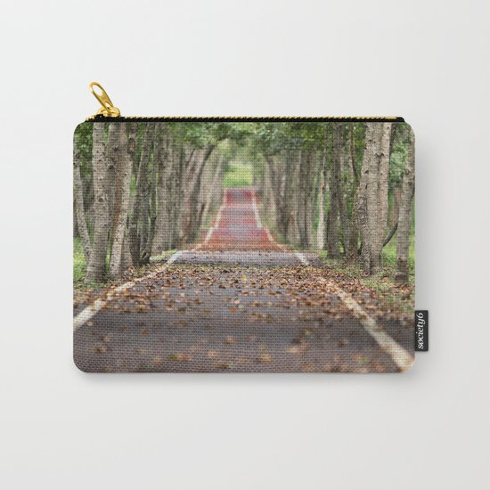 wood le chemin Carry-All Pouch