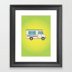 Bob's Burger's Food Truck Framed Art Print