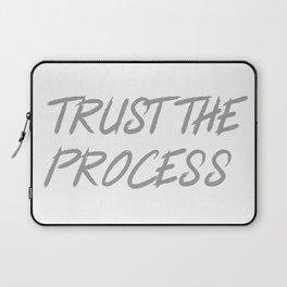 Trust The Process Workout Motivational Design Laptop Sleeve