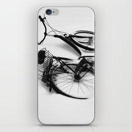 Snow Bicycle iPhone Skin