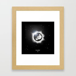 ECLIPSE :: rebirth of the lost cosmonaut Framed Art Print