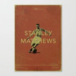 Stoke City - Matthews Canvas Print