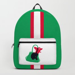 Angry animals: chihuahua - little green bag Backpack