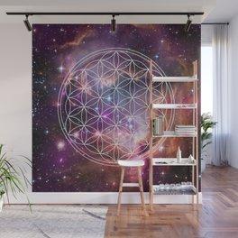 Flower of Life Sacred Geometry Wall Mural