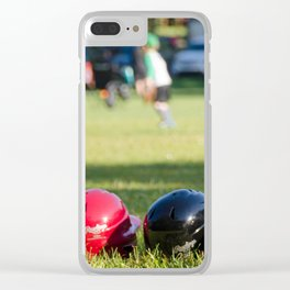 Let's play Clear iPhone Case