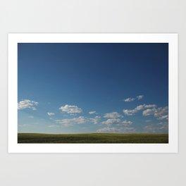 Montana Sky Art Print