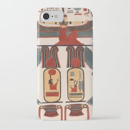 Ancient Egyptian pattern design iPhone Case