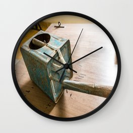 S21 Water Can - Khmer Rouge, Cambodia Wall Clock