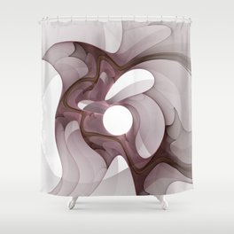 Mysterious Moment Shower Curtain