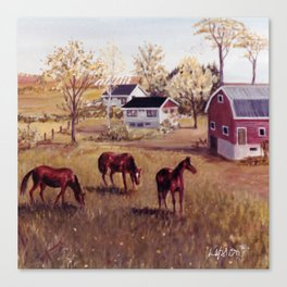 Nova Scotia, CANADA                             by Kay Lipton Canvas Print