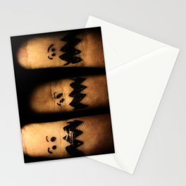 Scared Fingers Stationery Cards
