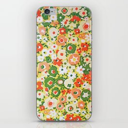 Sunset Garden Pattern No. 1 iPhone Skin