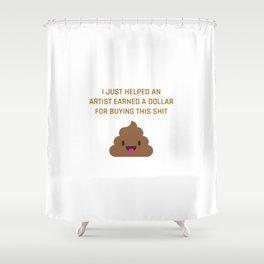 Help an Artist Shower Curtain