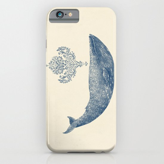 The Damask Whale  iPhone & iPod Case
