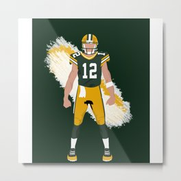 Cheese Head - Aaron Rodgers Metal Print
