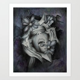 Chaotic Disorders Art Print