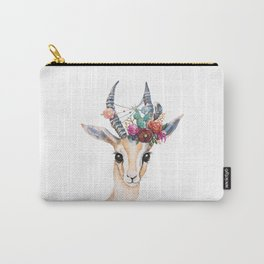 Boho Gazelle Carry-All Pouch