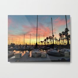 King Harbor Marina Metal Print