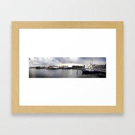Fremantle Marina Framed Art Print