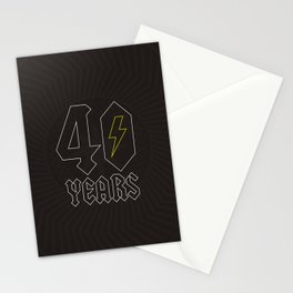 ACDC/40 Years Stationery Cards