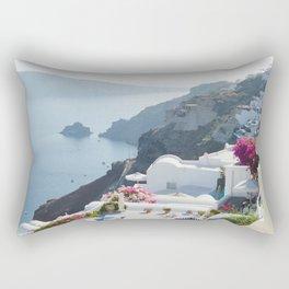 Santorini VII Rectangular Pillow