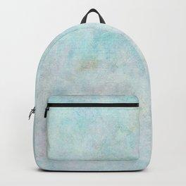 Watercolor beige violet blue Backpack