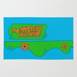 Mystery Machine Rug