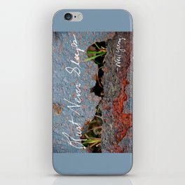 Rust Never Sleeps iPhone Skin