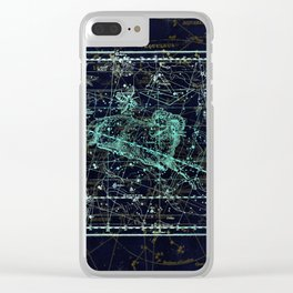 Constellation of Aries Clear iPhone Case